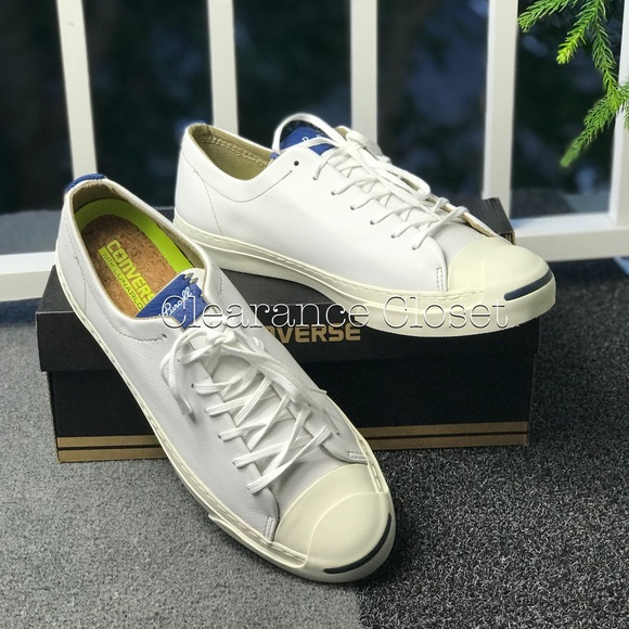 7d4948dc5362 NWT Converse Jack Purcell JP OX White Leather M